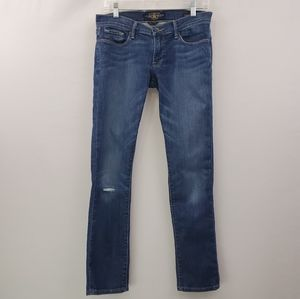 Lucky Brand Cate stacked skinny distressed jean